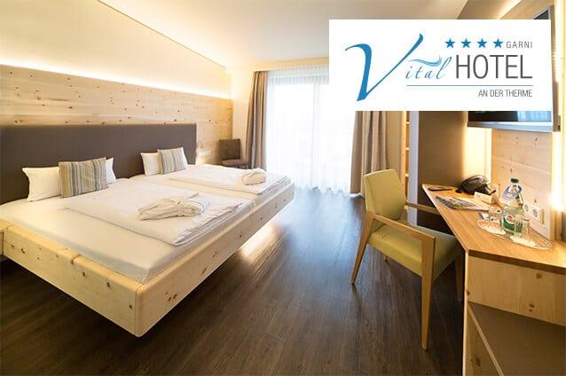 Zirbenzimmer im Vital Hotel Bad Windsheim