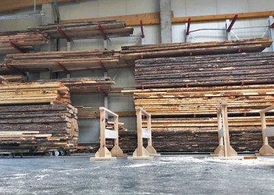 Zirbenholz Massivholzlager der Schreinerei Bauereiß