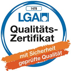 LGA Label für dormiente Produkt