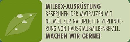 dormiente Icon für Milbex-Ausrüstung