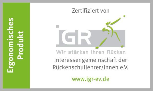 iGR-Zertifikat für ProNatura, Relax und dormiente