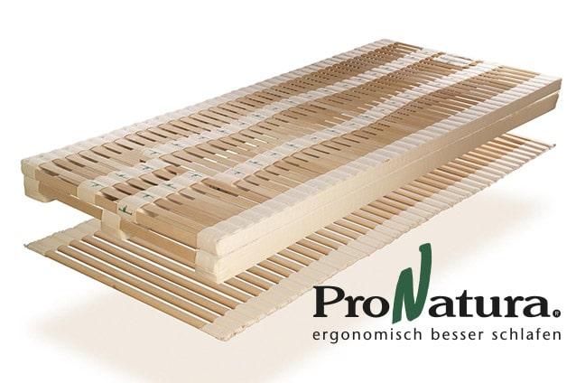 ProNatura Schlafsystem mit Sitzhochstellung mit ProNatura-Logo