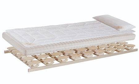 Relax 2000 Schlafsystem mit Matratze, Auflage und Kopfkissen