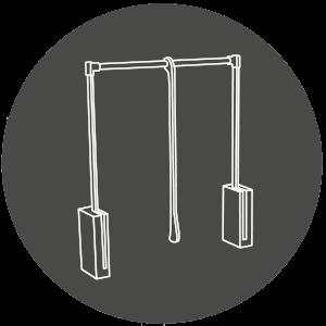 Icon für Garderobenlift / Kleiderlift im Kleiderschrank