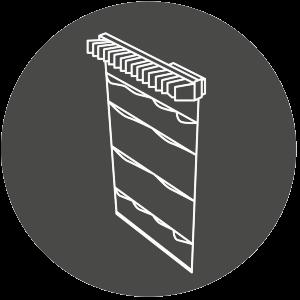 Icon für Multifunktionsauszug im Kleiderschrank