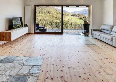 Zirbenholzboden gehobelt © Larix 2020
