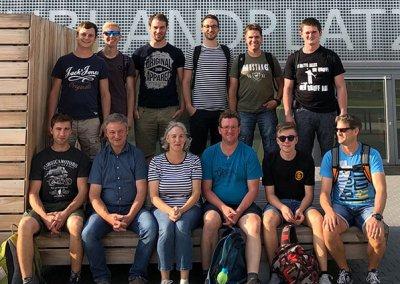 Team der Schreinerei Bauereiß bei einem Ausflug