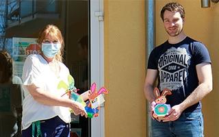 Osterhasen-Aktion für Kinder & Senioren in schwierigen Zeiten