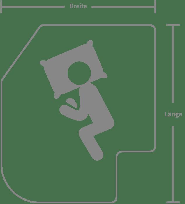 Individueller Matratzenzuschnitt Wohnmobilmatratze dormiente Travel Line